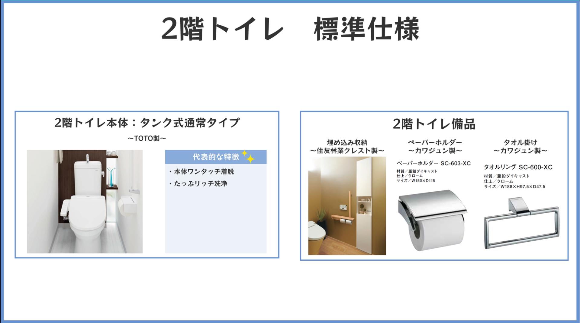 2階トイレまとめ