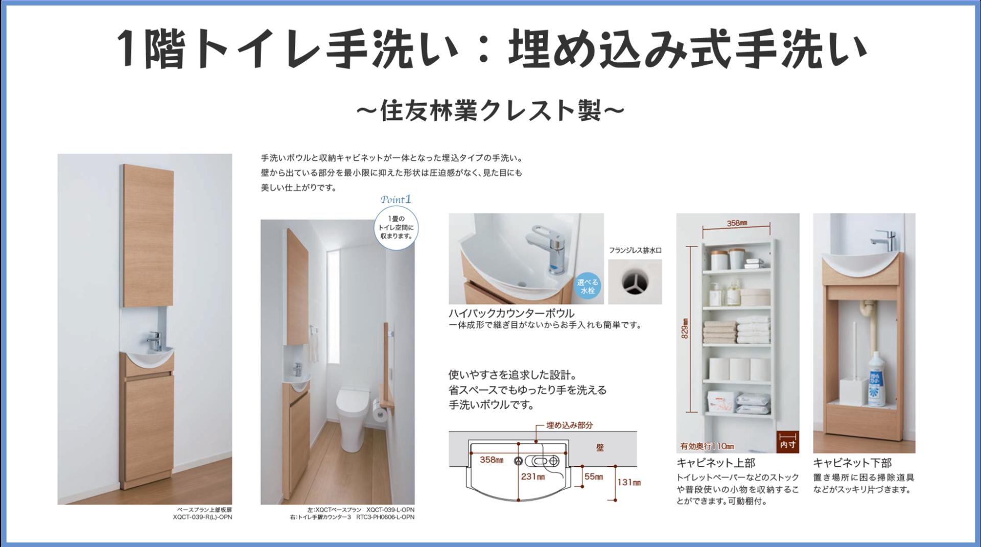 1階トイレ手洗い_埋め込み式