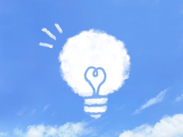 雲のアイデア
